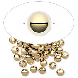 4mm 14kt Gold-Filled SMOOTH ROUND Beads
