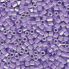 15/o HEX BEADS: Bright Lavender