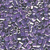 15/o HEX BEADS: Metallic Purple