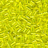 15/o HEX BEADS: Trans. Yellow S/L