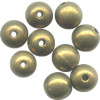 5mm Antiqued (Patina) Solid Brass Smooth ROUND Beads