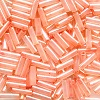 Mill Hill® #G72001 (Japanese) 1.9x6mm BUGLE BEADS: Peach Cream (Color-Lined Peach, Luster)