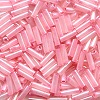 Mill Hill® #G72005 (Japanese) 1.9x6mm BUGLE BEADS: Dusty Rose (Color-Lined Pink Luster)
