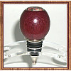 Purpleheart & Ocean Jasper Stainless Steel Wine Bottle Stopper ~ JBC Woodcraft®