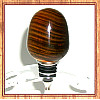 Exotic Lignum Vitae Stainless Steel Wine Bottle Stopper ~ JBC Woodcraft®