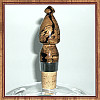 Spalted Red Oak Classic Cork Wine Bottle Stopper ~ JBC Woodcraft®