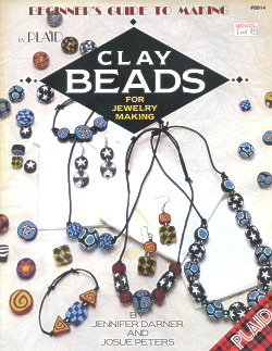 Beginner's Guide to Making Clay Beads for Jewelry Making ~ Plaid