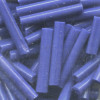 "1/8"" x 3/4"" (20mm) BUGLE BEADS: Royal Blue"