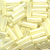 MILL HILL® #G72001 (Japanese) 1.9x6mm BUGLE BEADS: Pale Yellow Pearl Luster