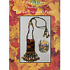 Beaded Amulet Bag ~ The Yellow Leaf Moon