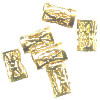 5x8mm 18kt Gold-Plated FILIGREE TUBE Beads