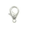 12mm Rhodium Plated Lobster Claw CLASP