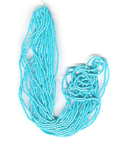 11/o Czech CHARLOTTE Beads - Light Blue