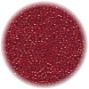 22/o *Vintage* Italian SEED Beads - Transparent Red