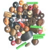Assorted Wood BEAD MIX